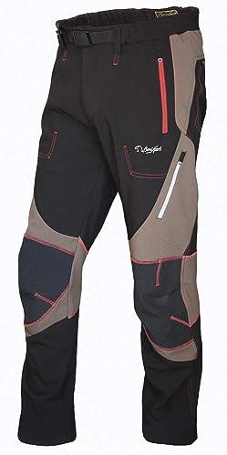 BENISPORT 680 48 Pantalon Softshell, Marron Noir, Unisexe Adulte, 48