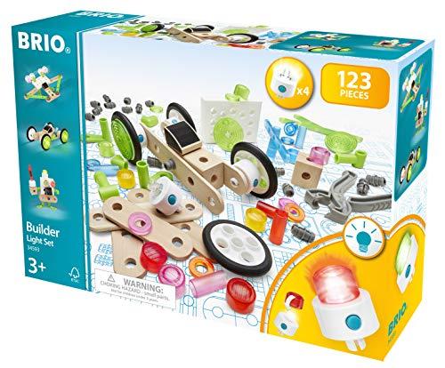 BRIO 34593 Builder Licht-Konstruktionsset, 120tlg, White