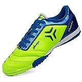 Les chaussures de football for hommes, club de jeunes professionnels chaussures de soccer extérieur Crampons (enfants-adultes) pointes FG classique bleu piste de rugby de fitness junior et baskets att