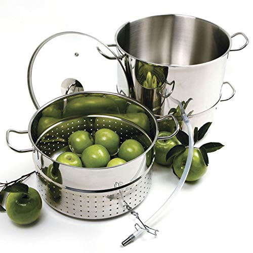 Stainless steel steamer/juicer without canning kit by Norpro