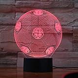 Le Club de Football celtique Logo ballon de football lampe de Table acrylique 3D LED veilleuse enfants cadeaux chambre décoration de la maison