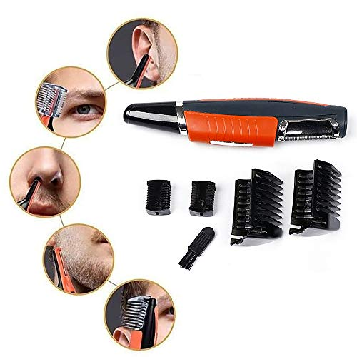 Multi-functie 2 in 1 Hair Trimmer, Men's Facial Touch Electric Trimmer scheerapparaat All in One Razor RVS Switchblade
