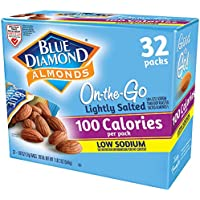 32-Count Blue Diamond Almonds Low Sodium Lightly Salted Snack Nuts