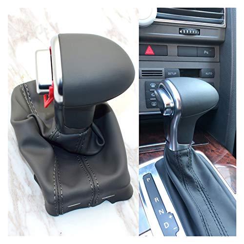 FANGFANG Want Want Lin Auto Automatic Gear Shift Knob Fit para Audi A6 C6 A3 A4 B8 A5 Q5 Q7 2009 2010 2011 2012 2012 2013 2014 4G1 713 139 R (Color Name : Gray)