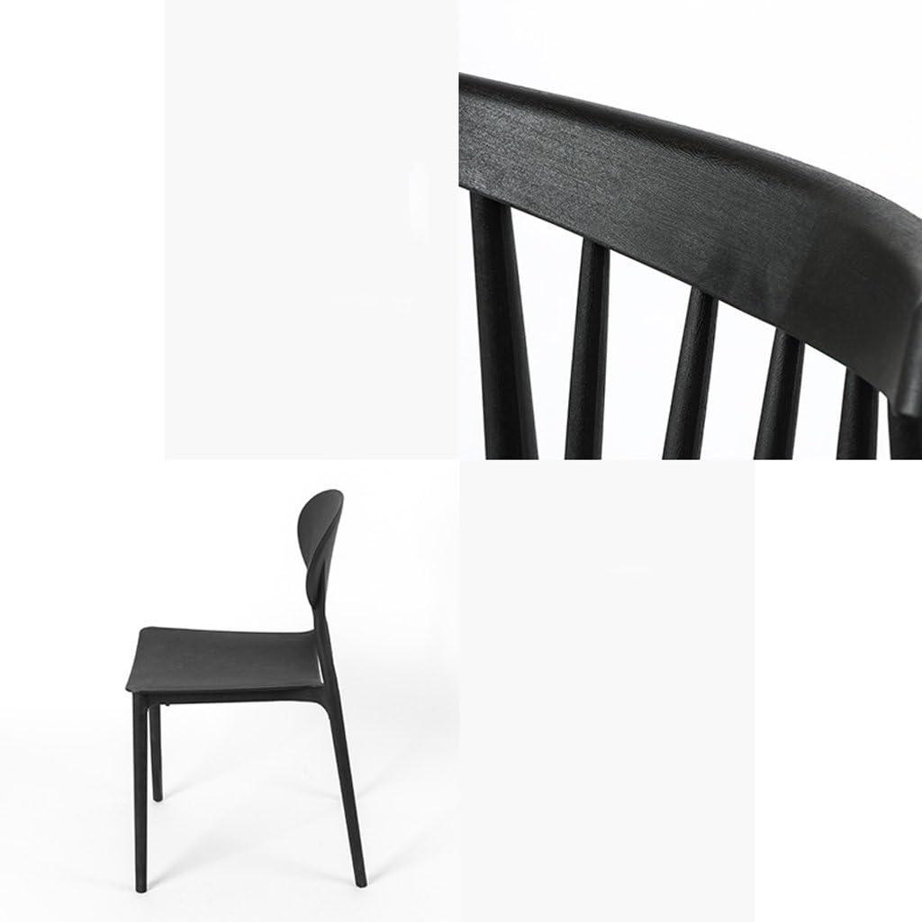 Président WGZ- Chaise de Loisirs Adulte Minimaliste Moderne Chaise de Plastique Maison créatif Simple (Color : B) B