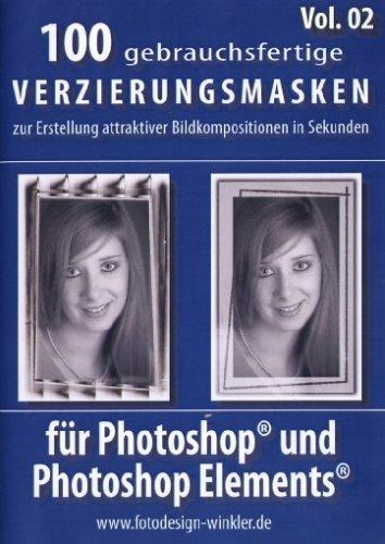 100 Verzierungsmasken für Photoshop Vol. 2