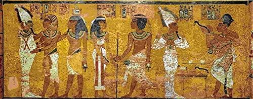 Diamond Painting Egipto religioso, Cuadros Diamantes Pintura 5D DIY para Adultos/Niños, Rhinestone Cristales Bordado Diamante Punto de Cruz, para Decoración de la Pared del Hogar Square drill 80x160cm