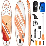Forceatt Tabla de Paddle Surf Hinchable Sup Inflatable, Stand up Paddle Board de...