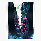 Générique The G Manga GITS S Cyberpunk Ghost T Punk in Anime I Shell Cyber Affiche d'impression d'art de Mur de décor à la Maison !