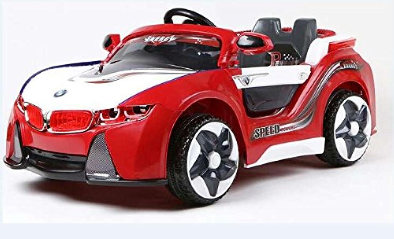Kinderfahrzeug - Elektro Auto CONCEPT mit MP3 -2x30W -2x 12V- ferngesteuert -Rot