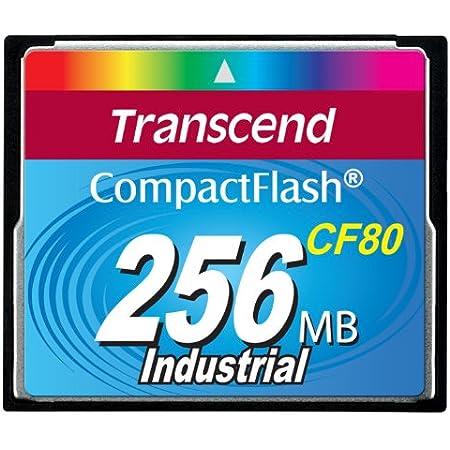 Transcend Compactflash Cf Speicherkarte 256mb 80x Slc Computer Zubehör