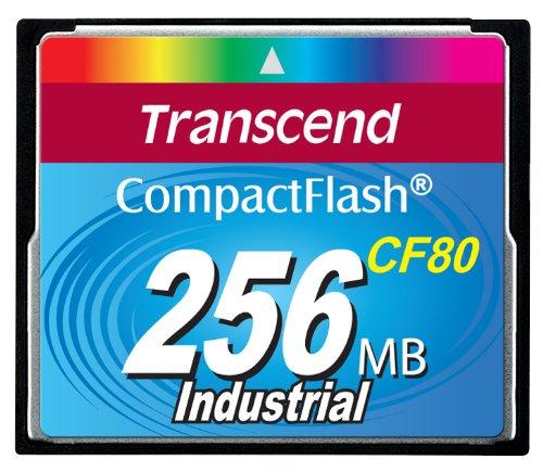 Transcend CompactFlash CF Speicherkarte 256MB 80x SLC DMA