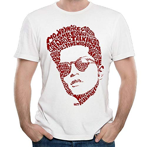 Sdmnsg_T Herren T-Shirt Bruno Singer Mars Logo Gr. 56, weiß