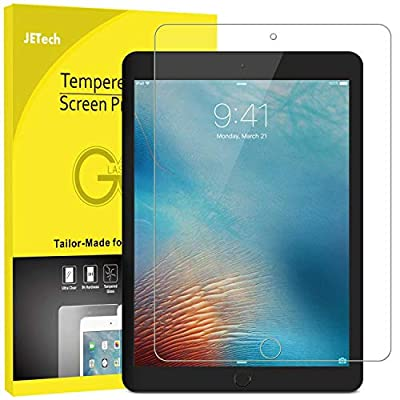 JETech Screen Protector for iPad Mini 5 (2019) and iPad Mini 4, Tempered Glass Film