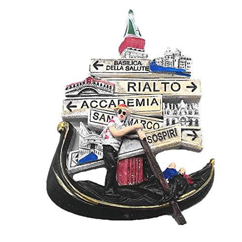 3D Venezia Italia souvenir magnete frigo souvenir regalo, casa e cucina adesivo magnetico decorazione Venezia Italia frigorifero magnete collezione