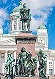 CALVENDO Alexander II Denkmal am Dom von Helsinki, Poster