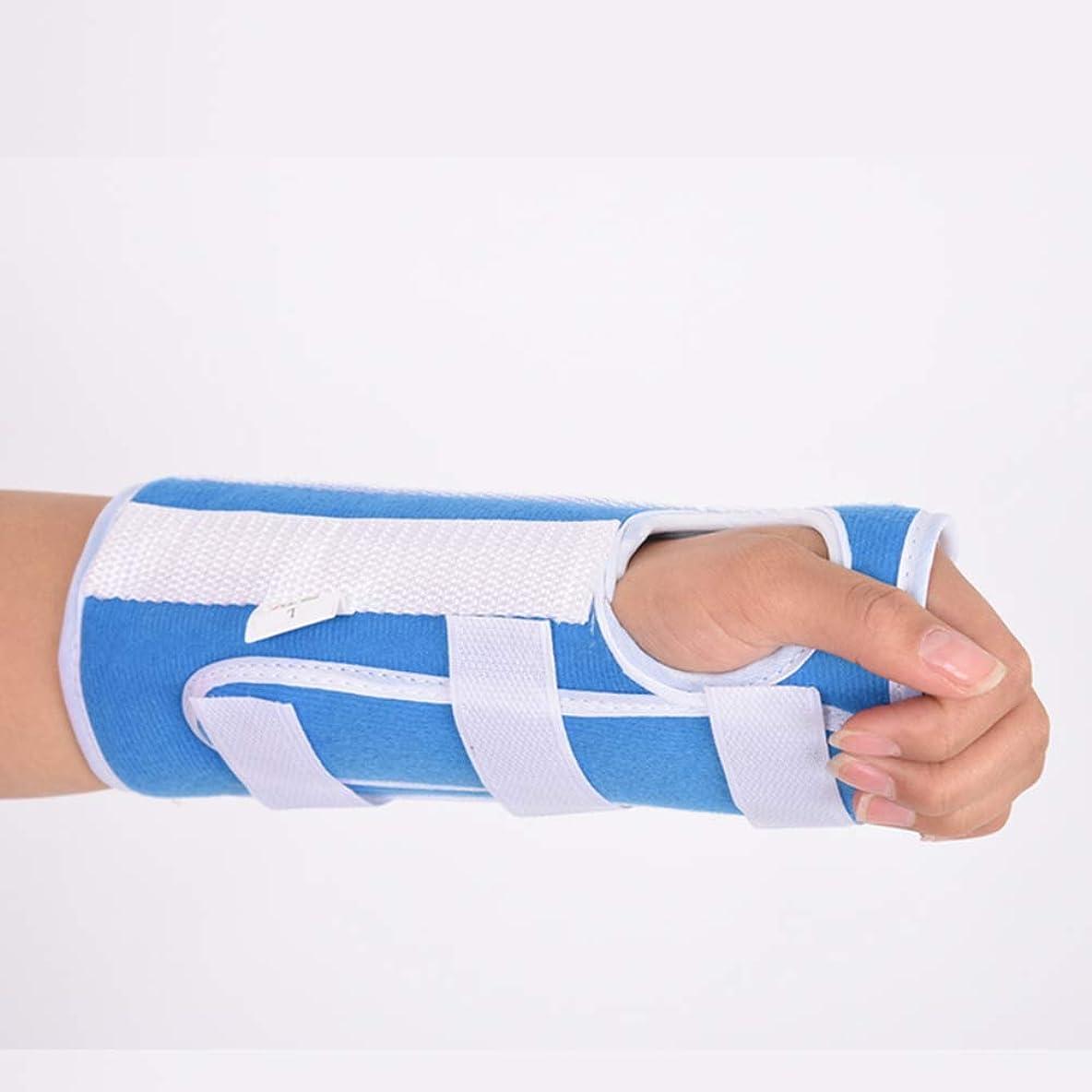 洋服修道院信条手根管用手首装具、関節炎および腱炎用の快適で調整可能な手首支持装具、左手と右手の両方に適合,S