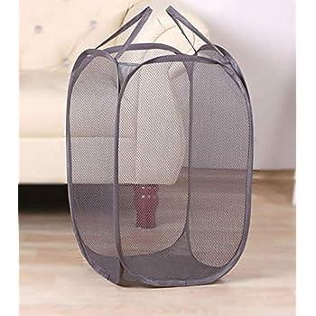 Kuber Industries Nylon Mesh Laundry Basket,20Ltr (Assorted)-CTKTC21510