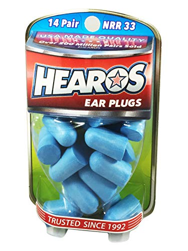 HEAROS Xtreme Ear plugs - Best In Class Noise Cancelling Disposable Foam Earplugs With NRR 33...