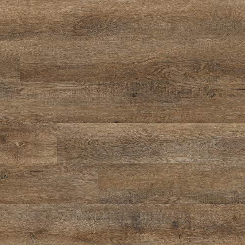 M S International AMZ-LVT-0004 Katalina Saddleback Luxury Vinyl Plank, Reclaimed Oak, 18 Piece