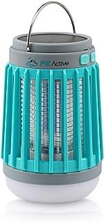 FE Active LED Camping Lantern - 4 Light Modes Flashlight for Outdoor, Indoor & Emergency Lighting. UV Bug Zapper. Recharge...