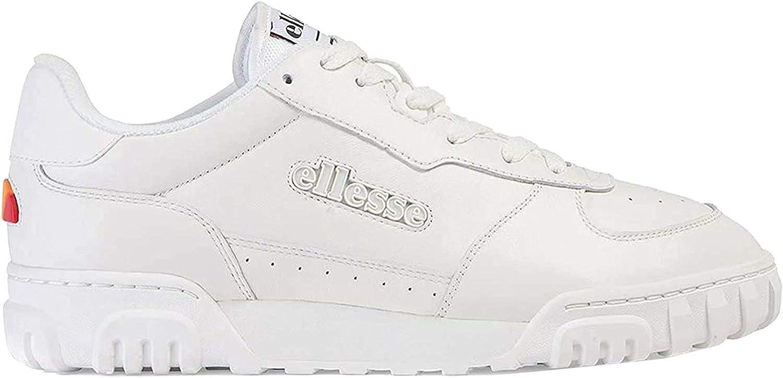 Ellesse Tanker Lo, Sneaker Uomo Multicolore White White Dark Blue Wht Wht Dk Blu