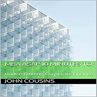 MBA ASAP 10 Minutes to: audiobook cover art