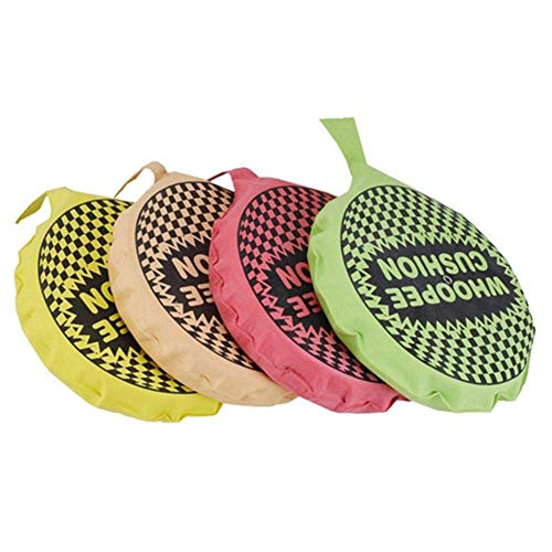 JACKWS Self Inflating Whoopee Cushion Classic Childs Kids Fun - Whoopie Cushion - Ideal Joke Gift or Stock Filler - Boys Perfect Ideal Christmas Stocking Filler Gift Present (4pcs Random Color)