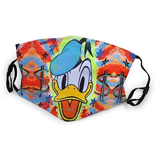 Gezeichneter Donald Duck Pop Art Mundschutz Anti-Staub Waschbar Wiederverwendbarer Mundschutz Modedesign für Kinder Jung