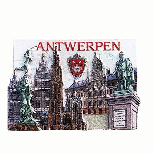 3D Antwerpen België Koelkast Magneet Souvenir Gift Collectie Huis & keuken Decoratie Magnetische Sticker Antwerpen België Koelkast Magneet