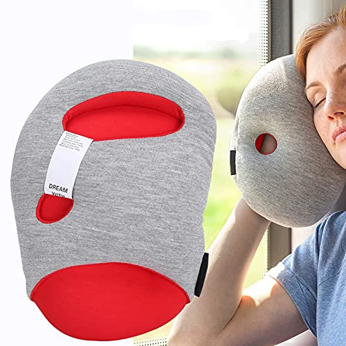 Almohada para dormir de escritorio Nap, almohada de viaje, almohada de viaje para reposabrazos, soporte para la cabeza, almohada para la siesta para la biblioteca de la escuela de la oficina, mini alm