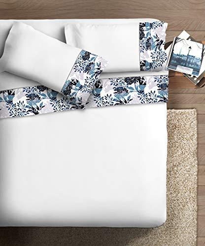 Ipersan Completo con bordo fotografico Armonie matrimoniale Disegno MORA/BIANCO