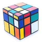 Cuberus 3x3x3 Black Two Solution Horror Mirror Bump Cube Twisty Puzzle 3x3