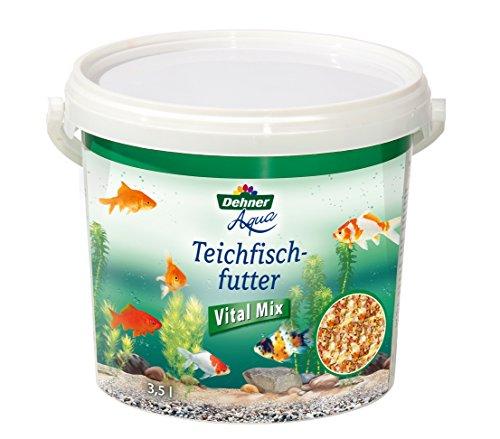 Dehner Aqua Teichfischfutter Vital Mix, 3.5 l