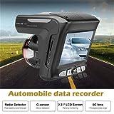 Détecteur de Radar 2 en 1 HD 1080P Car DVR Enregistreur Détecteur De Vitesse Laser Dash-Cam Compteur De Vitesse DVR pour Toutes Les Voitures