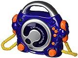 Bigben Audio - CD47BL - Lecteur CD avec 2 Micros - Bleu