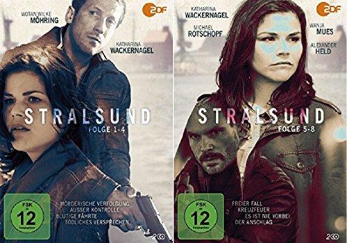 Stralsund - Teil 1-8 [DVD Set]