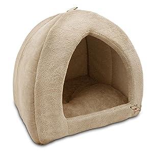 Best Pet Supplies Best Pet SuppliesPet Tent-Soft Bed for Dog & Cat, Inc, Inc. – Tan, 19″ x H: 19″