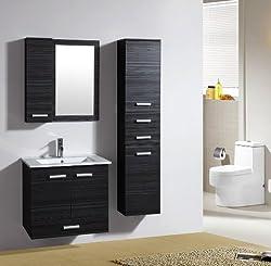 Badezimmermöbel Set - Badmöbel Bilbao Wenge