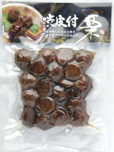 渋皮付栗の甘露煮(270g 袋)