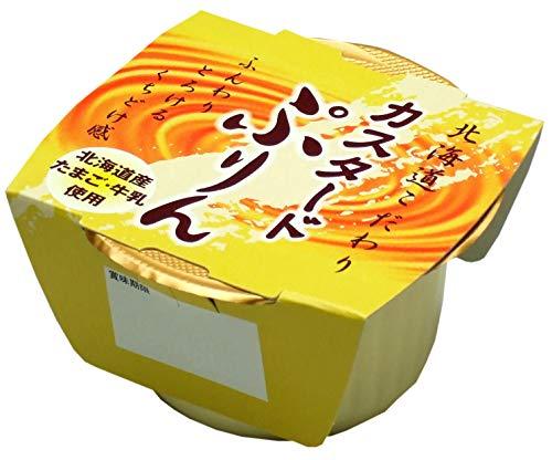 北海道 こだわりカスタードぷりん 105g 24個入り 長期常温保存可