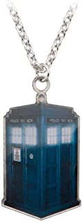 Doctor Who Tardis Dog Tag Collier