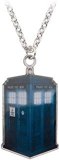 Doctor Who Tardis Dog Tag Collier