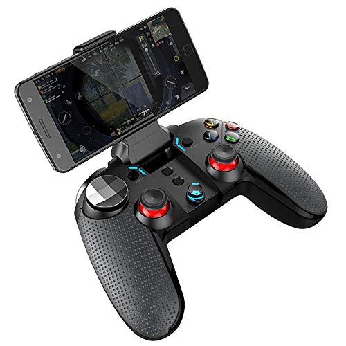 Contrôleur de manette de jeu Bluetooth à vibration pour smartphone, tablette, smart TV, décodeur, PC Windows, jeu P3