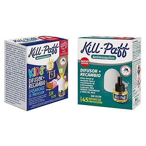 KILL-PAFF KIDS  Insecticida Eléctrico  Antimosquitos  Eficaz Contra Mosquito +   Insecticida Eléctrico...
