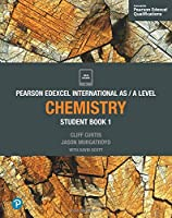 Pearson Edexcel International AS/A Level: Chemistry, Student Book 1 Front Cover