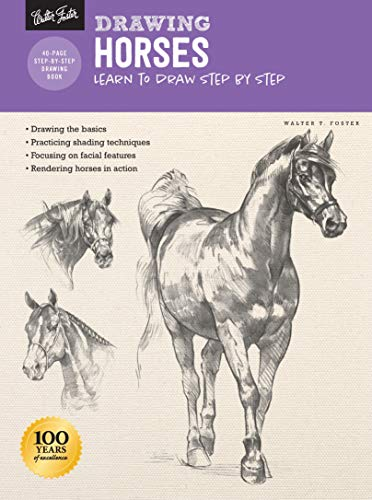 Drawing: Horses: Learn to draw step by step (How to Draw & Paint)