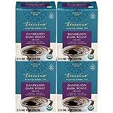 Teeccino Dandelion Tea Sampler - Caramel, Coconut, Dark Roast, Mocha Mint, Red Chai, Turmeric - Prebiotic Coffee Substitute   Caffeine Free   Gluten Free   Coffee Alternative, 12 Tea Bags (Pack of 2)