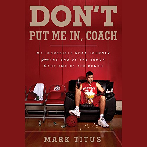 Don't Put Me In, Coach audiobook cover art