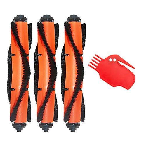 SODIAL Cepillos Principales Herramientas de Limpieza para Mijia G1 MJSTG1 Robot de Limpieza de Barrido Piezas de Aspiradora Cepillo de Rodillo